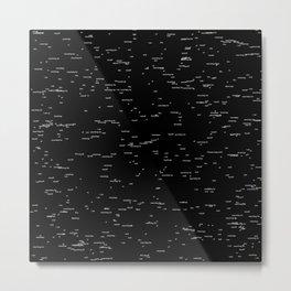 Void of meanings Metal Print
