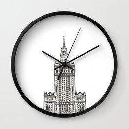 Architecture: Pałac Kultury i Nauki Wall Clock