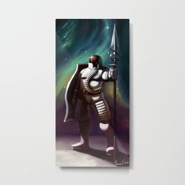 Moon Guardian Metal Print