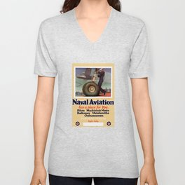 Naval Aviation Has A Place For You Unisex V-Neck
