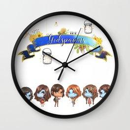 Godspawns Wall Clock