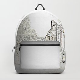 Glastonbury Abbey Backpack