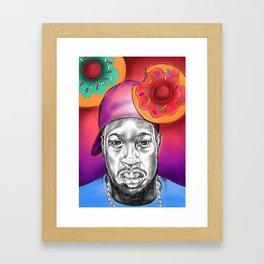 Dilla Did It!!! Framed Art Print