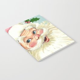Retro Santa with music Notebook