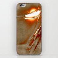 iron man iPhone & iPod Skins featuring Iron Man by Fernando Vieira