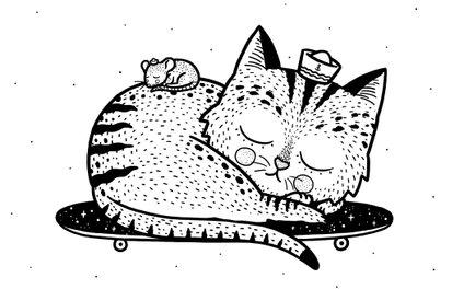 Art Print - Scat or Die - Alejandro Giraldo