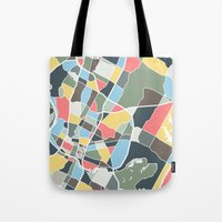 austin Tote Bags featuring Austin Texas. by Studio Tesouro