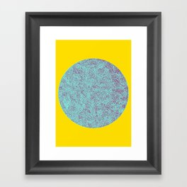 Another circle Framed Art Print