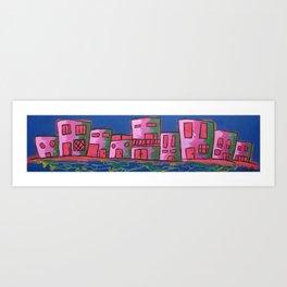houses of the block 2 Art Print