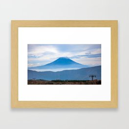 Fuji-san Framed Art Print
