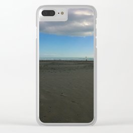 Surf Life Saving Flags Clear iPhone Case