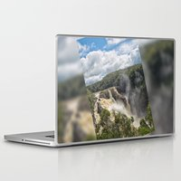 geology Laptop & iPad Skins featuring Beautiful Barron Falls by Wendy Townrow