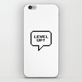 LEVEL UP! iPhone Skin