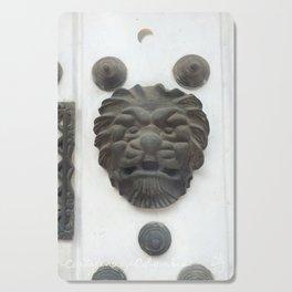 Cartagena Lion Mug, Colombia, South American Cutting Board