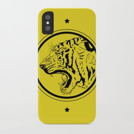 Tiger in a circle iPhone Case