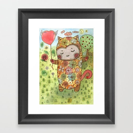Candy Realm Framed Art Print