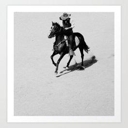 Lonely Cowboy Kunstdrucke