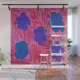 Pink Hawaii Dreams Wall Mural
