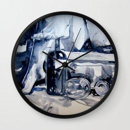 Una copa de locura Wall Clock