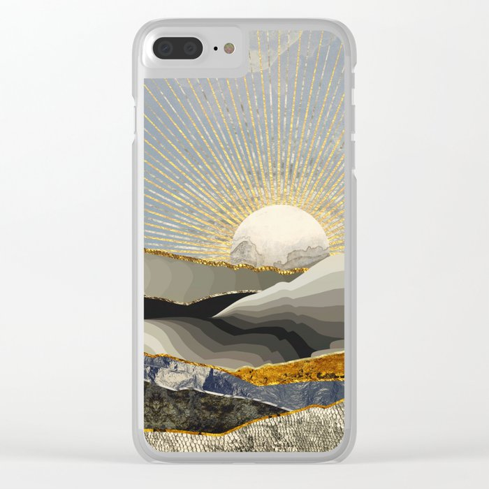 Morning Sun Clear iPhone Case