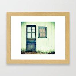 Janus Jade Framed Art Print