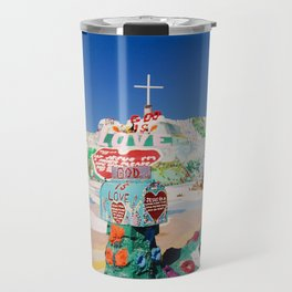 The colorful mountain Travel Mug