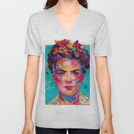 FRIDA Kahlo painting Unisex V-Neck
