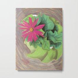 Flower Girl Dancing Metal Print