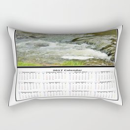 Stream 2017 Calendar Rectangular Pillow