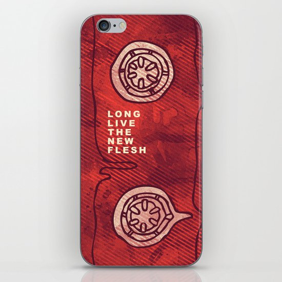 Videodrome iPhone & iPod Skin