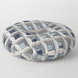 New York Facade Floor Pillow