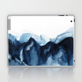 Abstract Indigo Mountains Laptop & iPad Skin