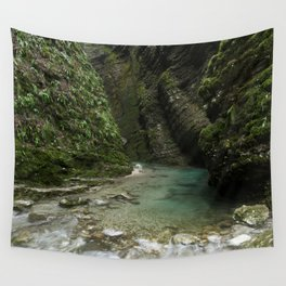 Soca River Gorge Wall Tapestry