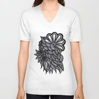 ornate V-neck T-shirts featuring Ornate  by Shivani C