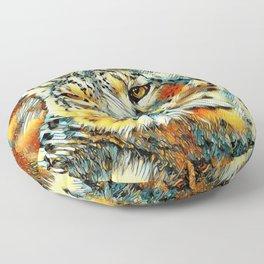 AnimalArt_Leopard_20170602_by_JAMColorsSpecial Floor Pillow