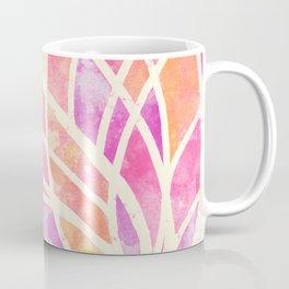 Stained Glass Lotus Coffee Mug