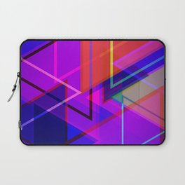 Lite Brite Plaid Laptop Sleeve