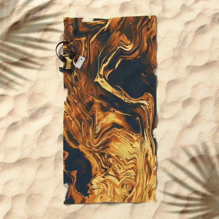 Gold Beach Towel