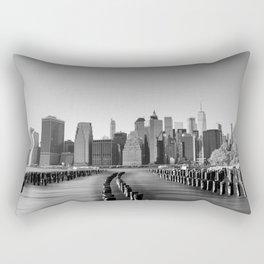 Manhattan Ice Rectangular Pillow