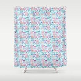 Wake Me Up Inside Shower Curtain