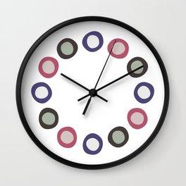 Blobby Dots Wall Clock