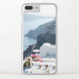 Santorini VII Clear iPhone Case