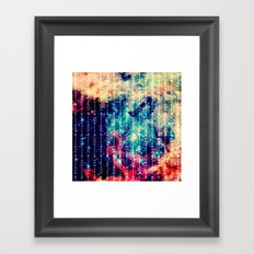 Galaxy Arrows Framed Art Print