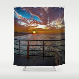 Just Stoked Shower Curtain