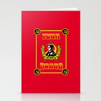 danny ivan Stationery Cards featuring Ivan Drago by SuperEdu