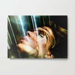 Celebrity Row - Kate Metal Print