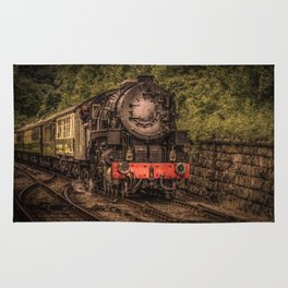Express Train to Whitby Rug