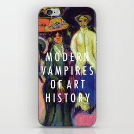 Modern Vampires iPhone Skin