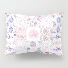 A Shabby Chic Patchwork Pillow Sham