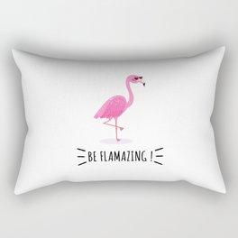 Be Flamazing Rectangular Pillow